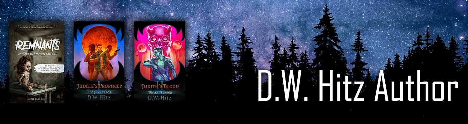 D.W. Hitz website banner