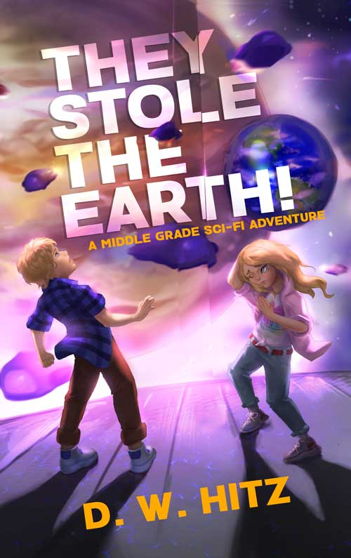 They Stole the Earth Book Cover